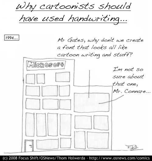 Handwriting.