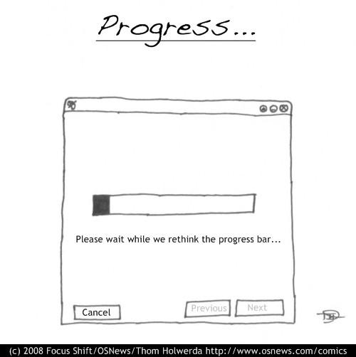 Progress.