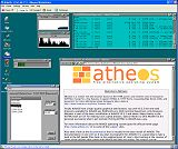 Click for a larger image - AtheOS under VMWare