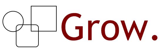 The Grow logo.