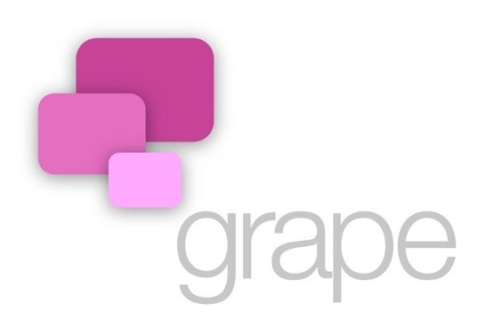Grape logo.