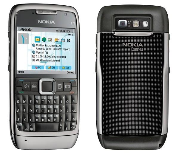 The Nokia E71.