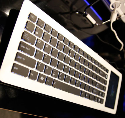The Asus Eee Keyboard.