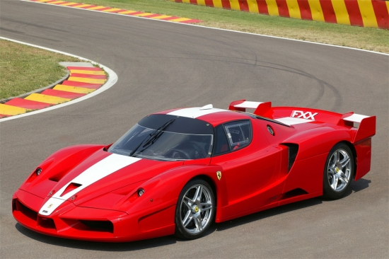 Ferrari's licensed car: the FXX.