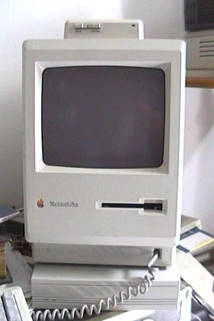 The Macintosh Plus in its full glory