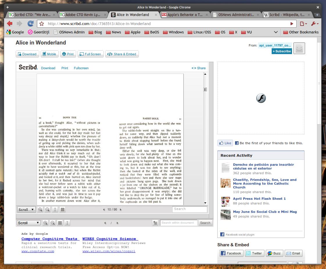 Scribd da el salto a HTML5 35