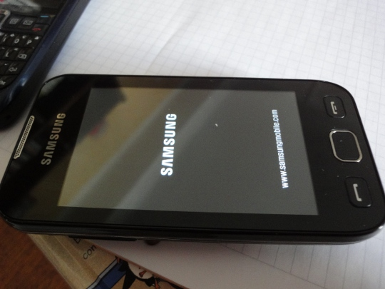 Splash screen 4: Samsung logo