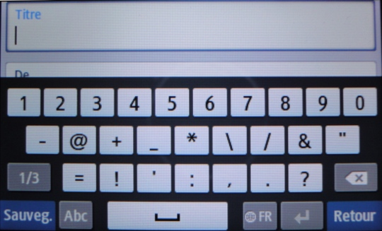 Virtual keyboard, symbols