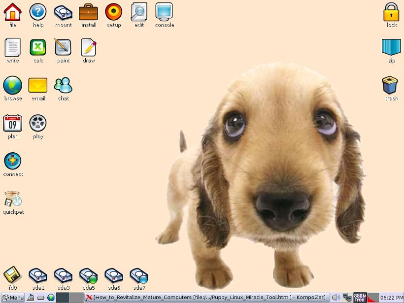 Puppy Main Screen