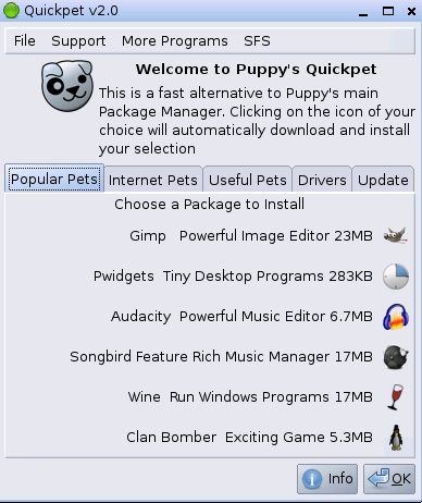 Quickpet Application Installer