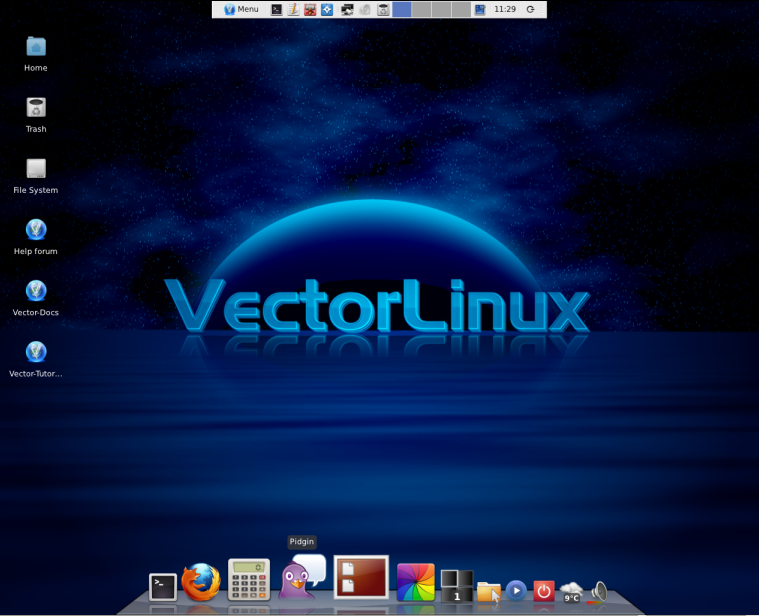 VectorLinux 7 Desktop