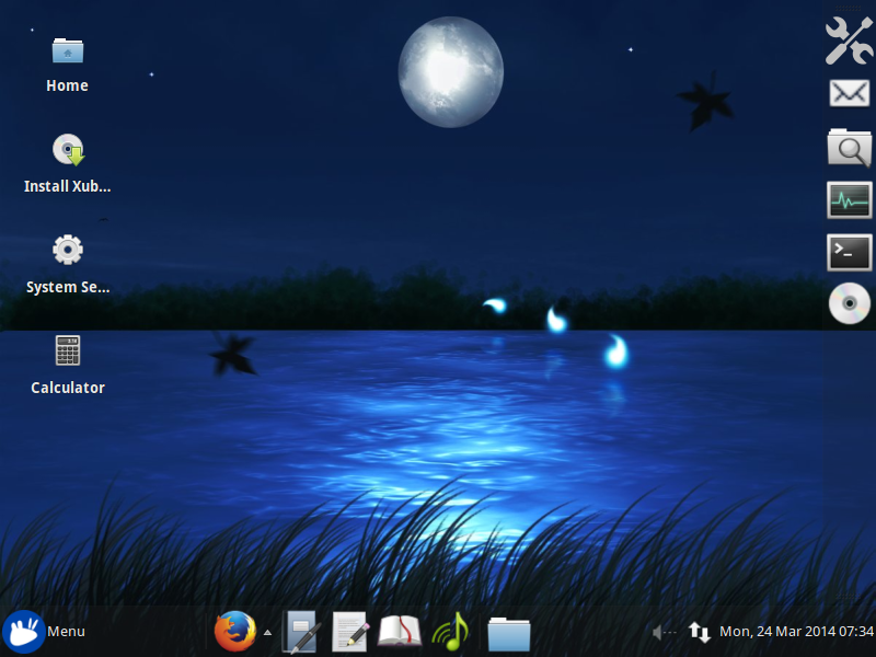Modified Xubuntu Desktop