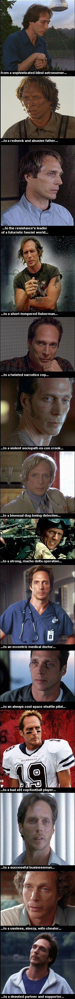 William Fichtner in some of his roles